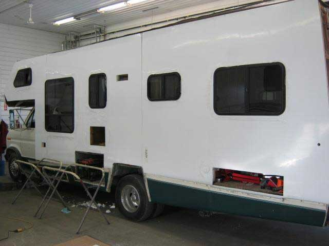 Class C Outer Skin Replacement Bgm Rv Repair