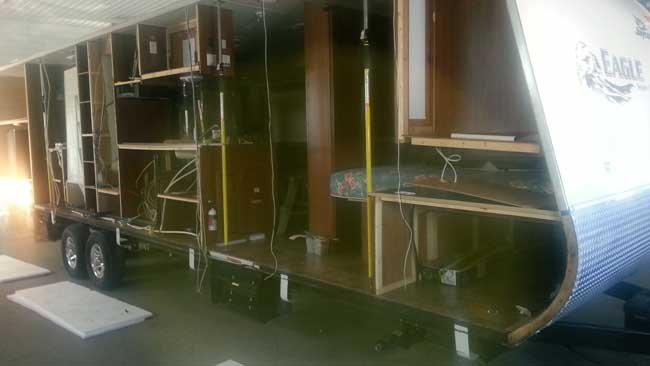 Rv Repairs Rv Interior