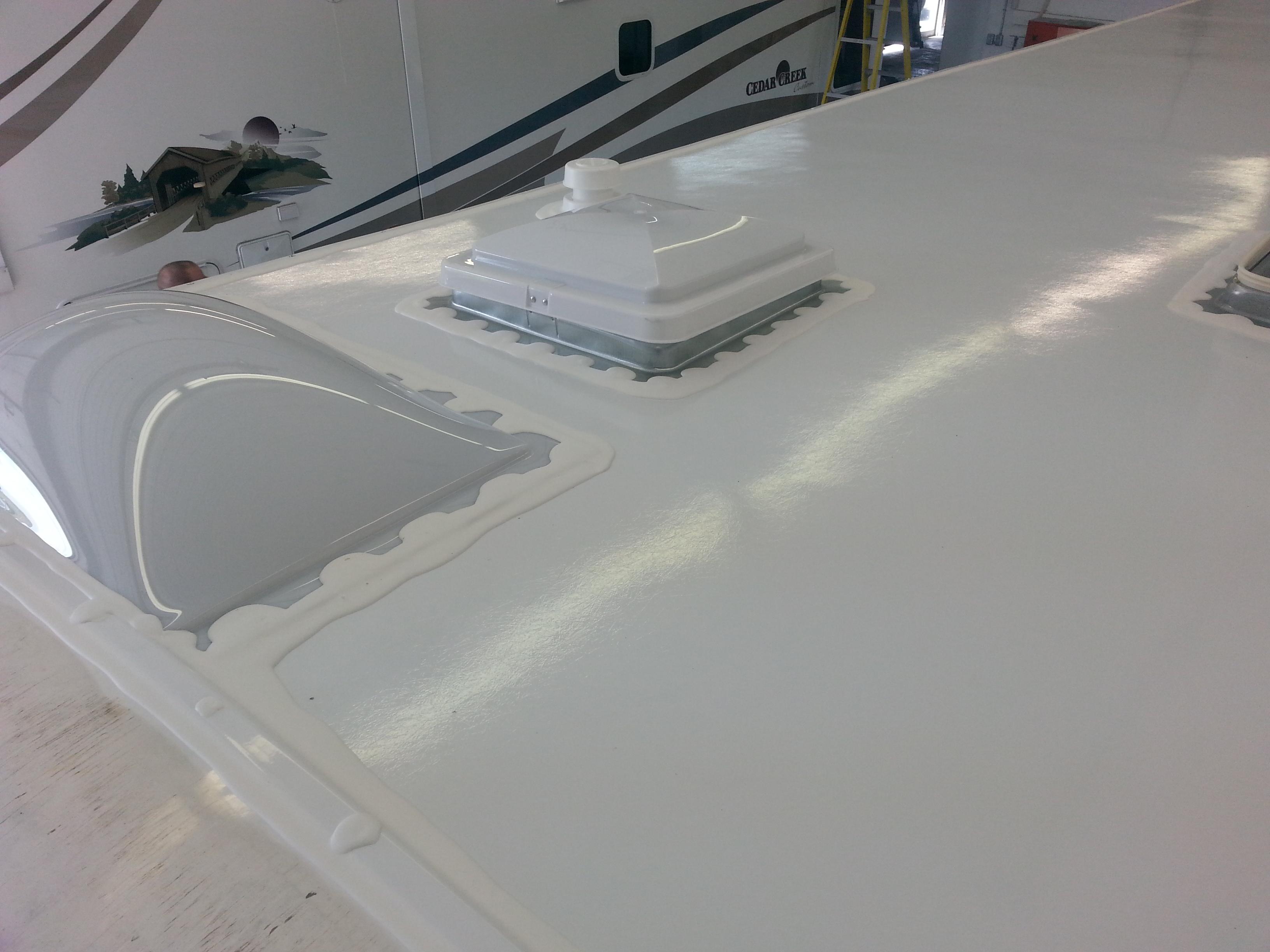 Trailer Roof Replacement   BGM RV Repair Memphite.com